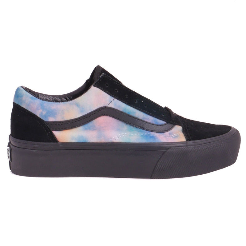 Vans Old Skool Platform Black/Multicolor