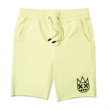 Cult Of Individuality Yellow Sweatshorts