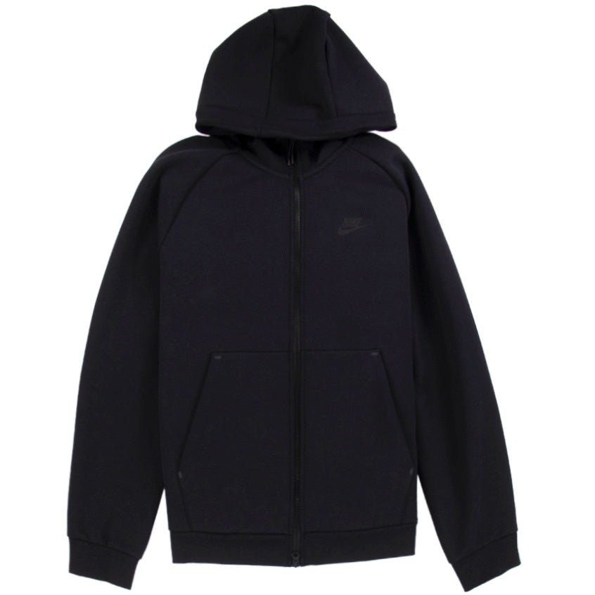 Nike NSW Tech Fleece Full-Zip Black Hoodie