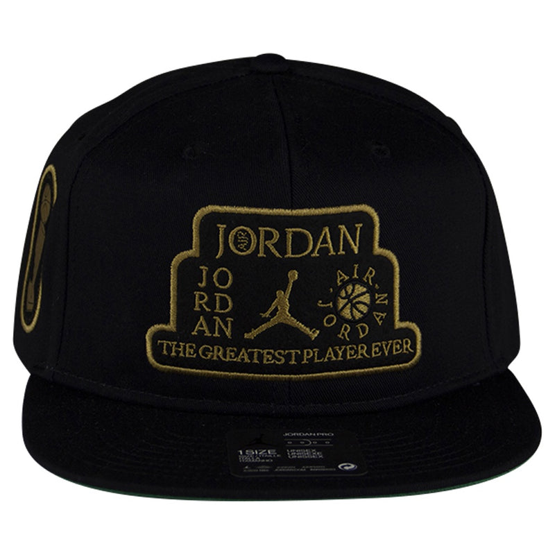 Air Jordan Pro Trophy Black Snapback