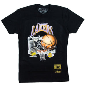 Mitchell & Ness Los Angeles Lakers Smash T-Shirt