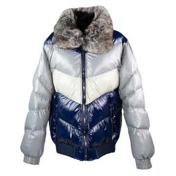 Jordan Craig Sugar Hill Nylon London Blue Puffer Jacket