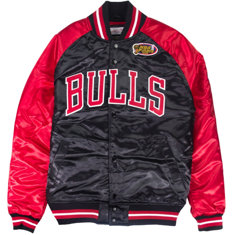 Mitchell & Ness NBA Tough Season Satin Jacket Chicago Bulls