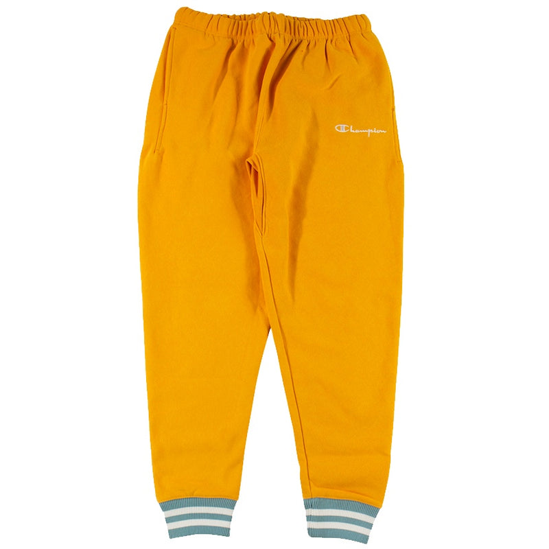 Champion Reverse Weave Orange Rib Trim Jogger