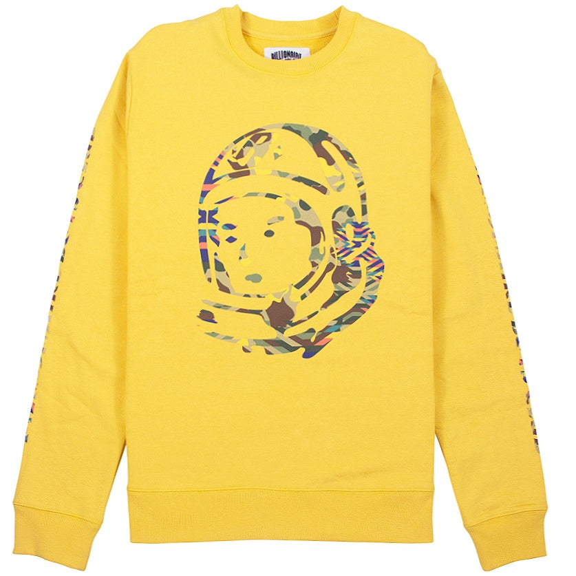 Billionaire Boys Club Camo Helmet Yellow Crew