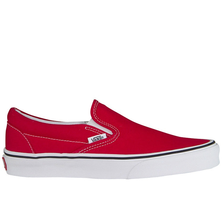 Vans Red Classic Slip-On