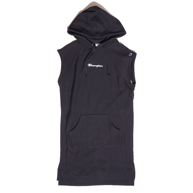 Champion Reverse Weave Black Dress With Hood