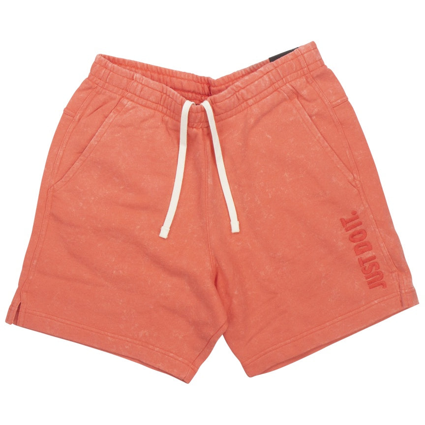 Nike Just Do It Pink Fleece Shorts