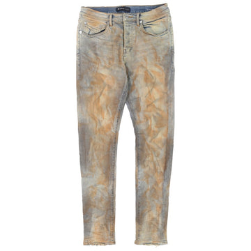Purple Brand Rust Indigo Dirty Resin Jeans