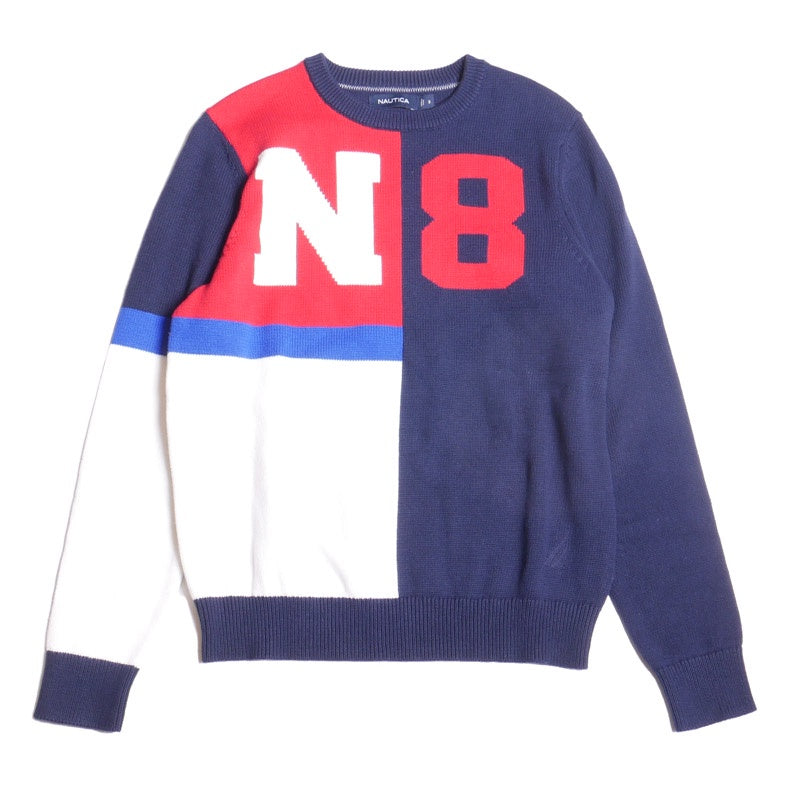 Nautica Men's N-83 Colorblock Crewneck Sweater