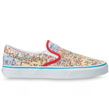 Vans x Where's Waldo? Classic Slip-On