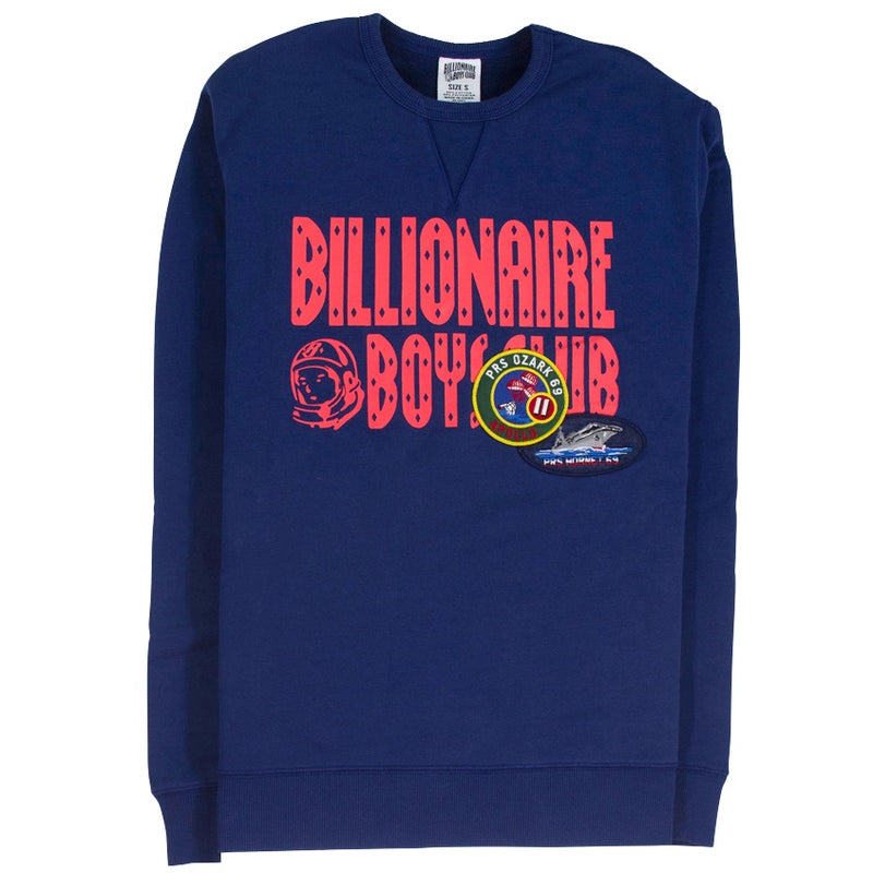 Billionaire Boys Club Decorated Logo Crew