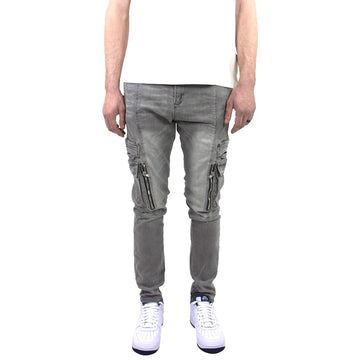 Embellish Windler Grey Cargo Jeans