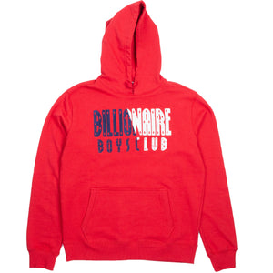 Billionaire Boys Club Red Parallel Hoodie