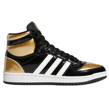 Adidas Top Ten Black Gold Patent