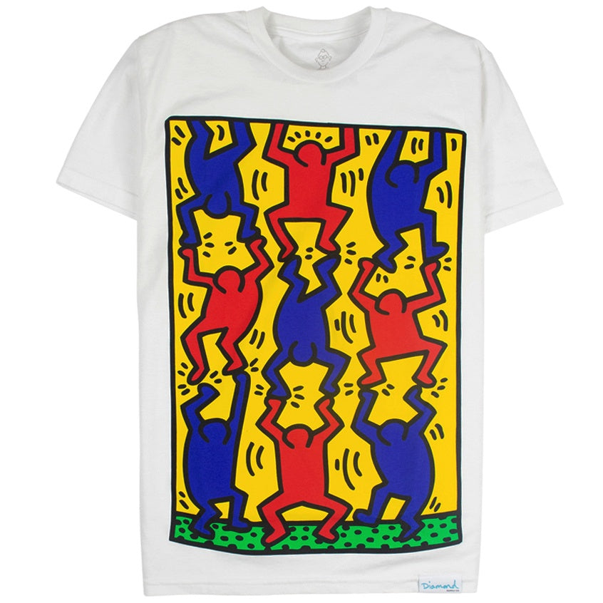 Diamond Supply x Keith Haring Fingers Crossed T-Shirt