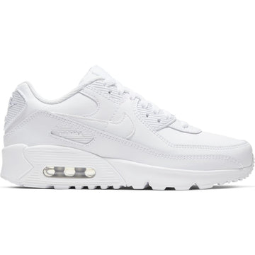 Nike Air Max 90 (GS) 'Triple White'