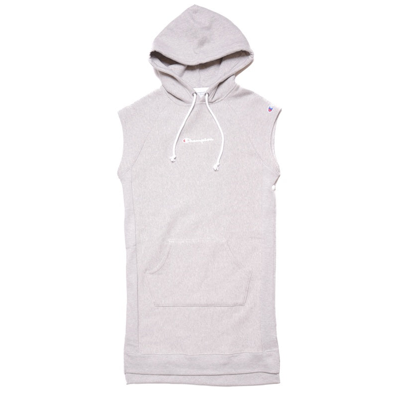 Champion Reverse Weave Grey Dress With Hood