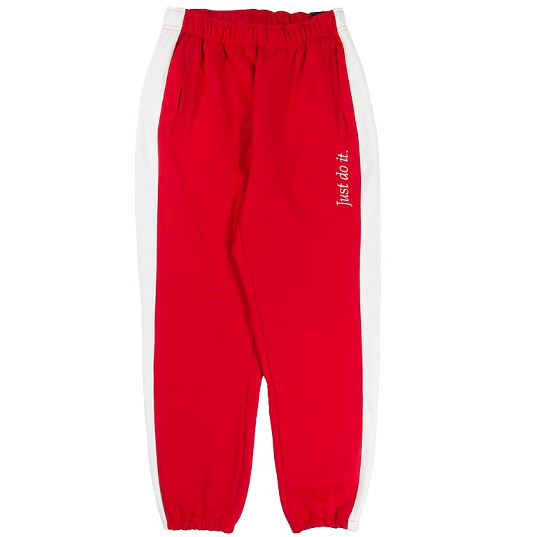Nike Sportswear Red 'Just Do It' Sweatpants