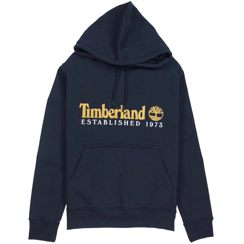 Timberland Essential 1973 Classic Logo Navy Hoodie