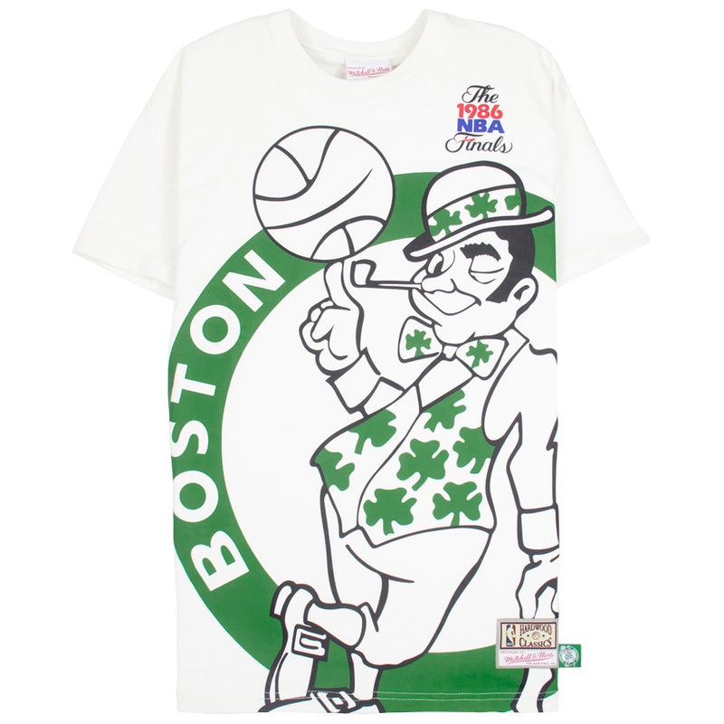 Mitchell & Ness Big Face T-Shirt Boston Celtics