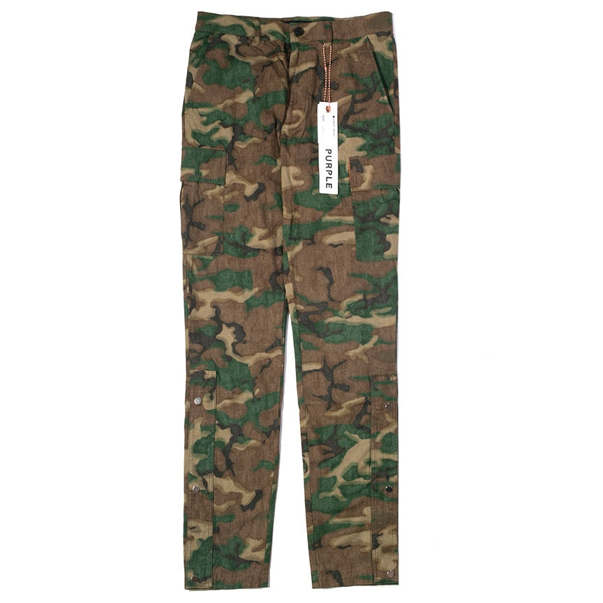 Purple Brand Camouflage Pants