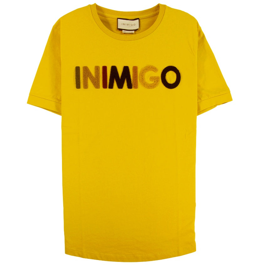 Inimigo Color Logo Gold T-Shirt