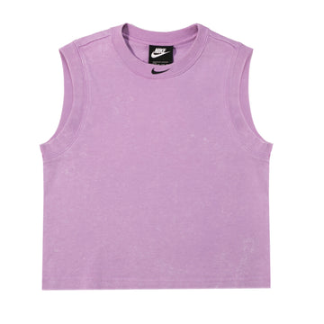 Nike Just Do It Cropped Purple Tank