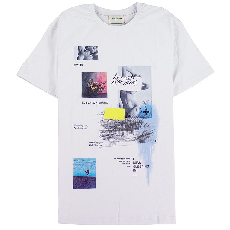 Lifted Anchors White Gallery T-Shirt