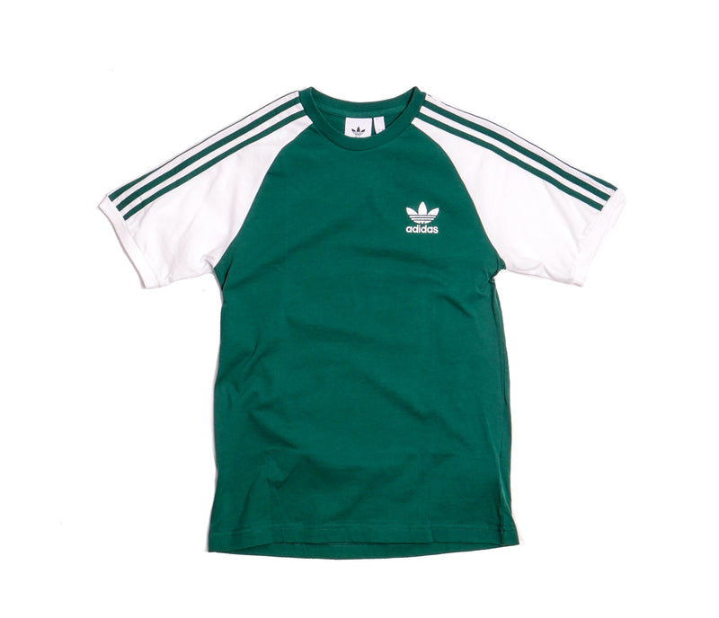 Adidas Originals 3-Stripes Green T-Shirt