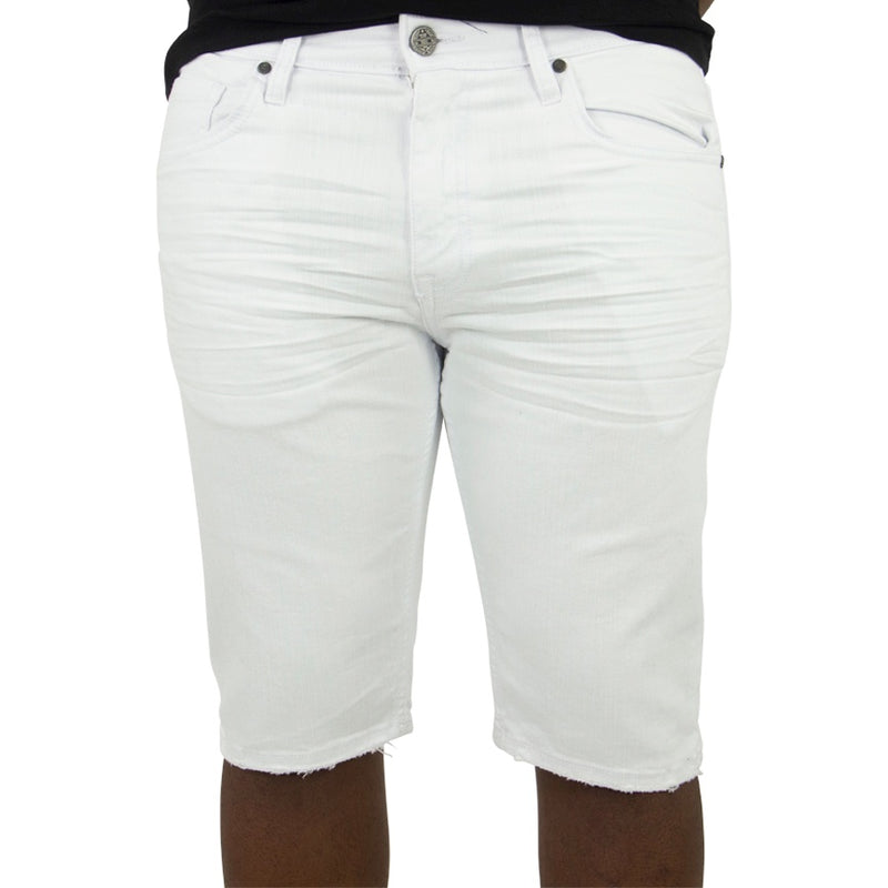 Jordan Craig Newcastle Twill White Shorts