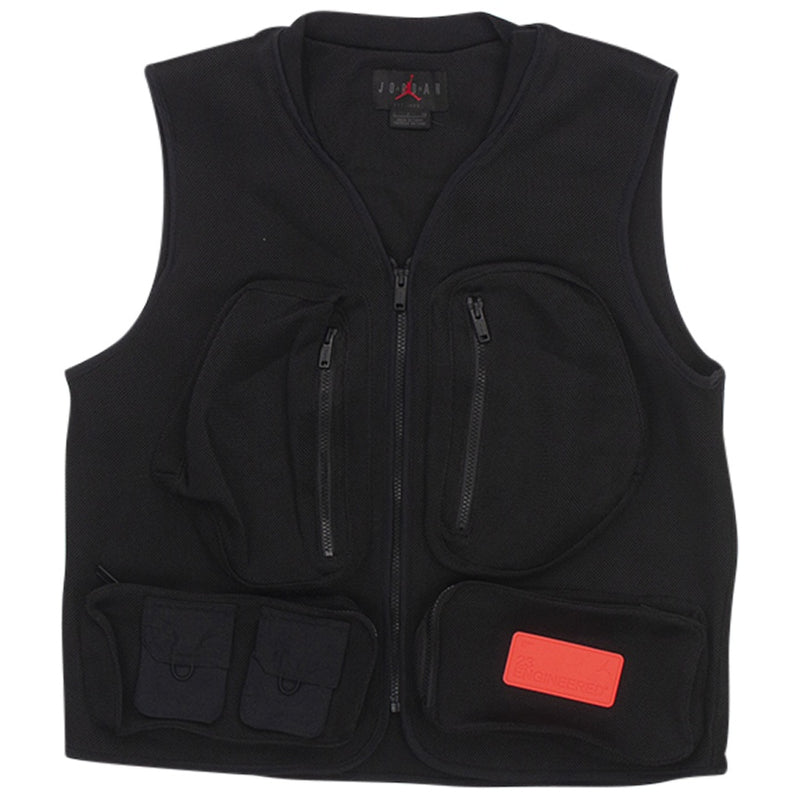 Air Jordan 23 Engineered Black Mesh Vest