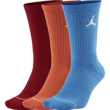 Air Jordan Everyday Max 3 Colors Crew Socks (3 Pack)