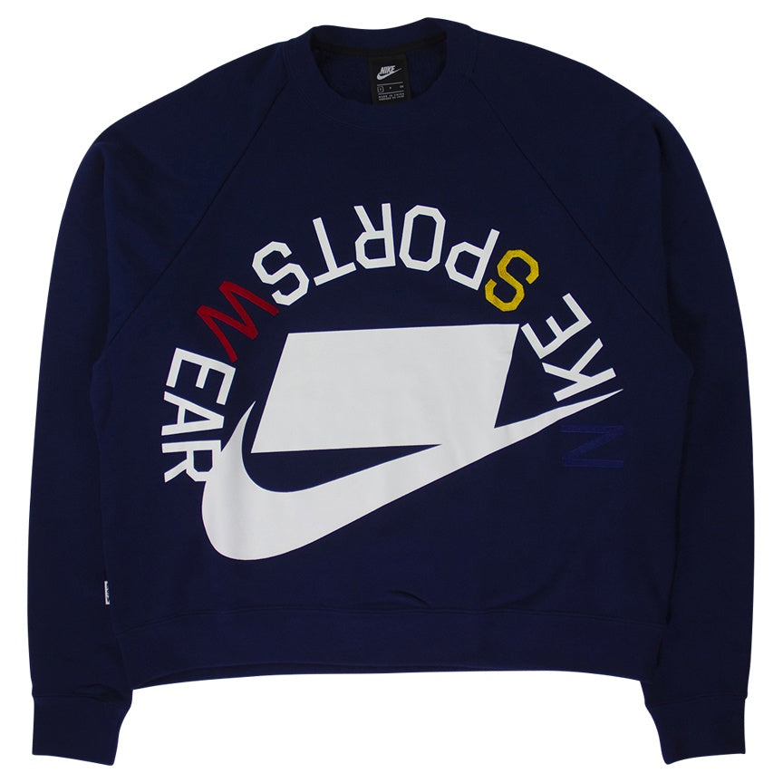 Nike Sportswear NSW Blue French Terry Crew