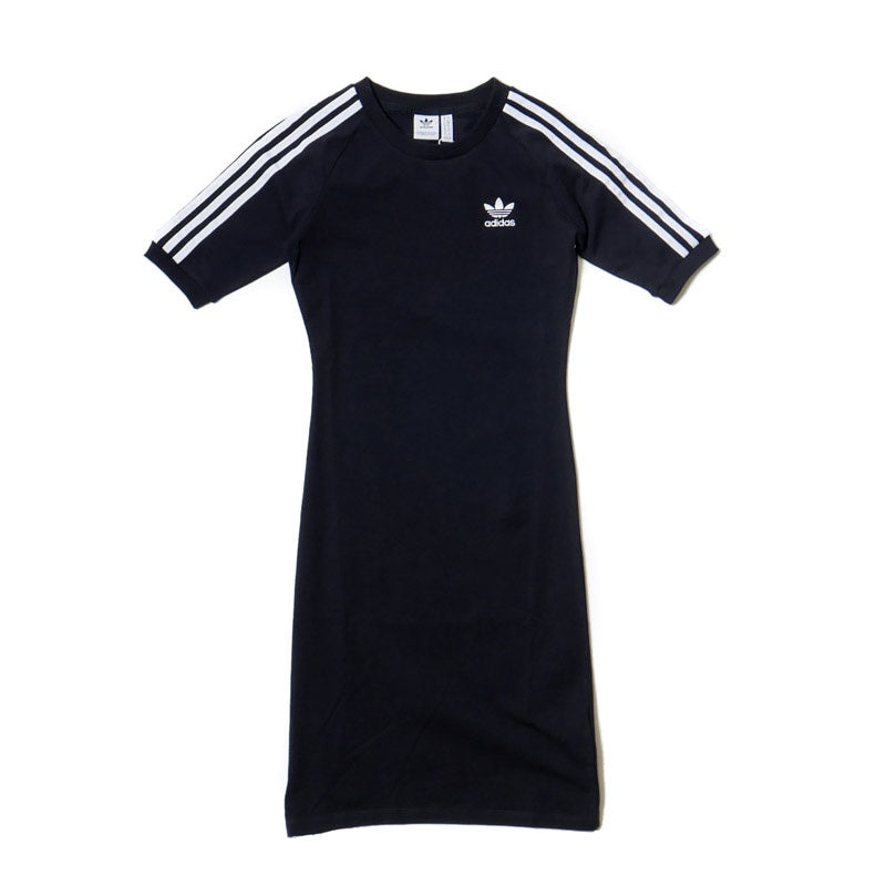 Adidas Women's 3-Stripes Black Dress