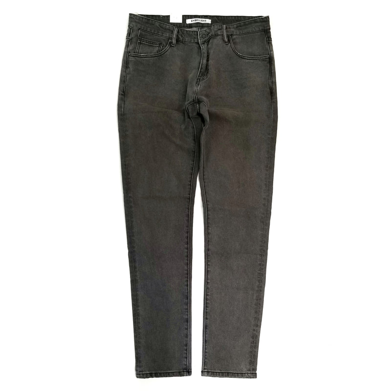 Embellish Cammie Denim Grey Jeans