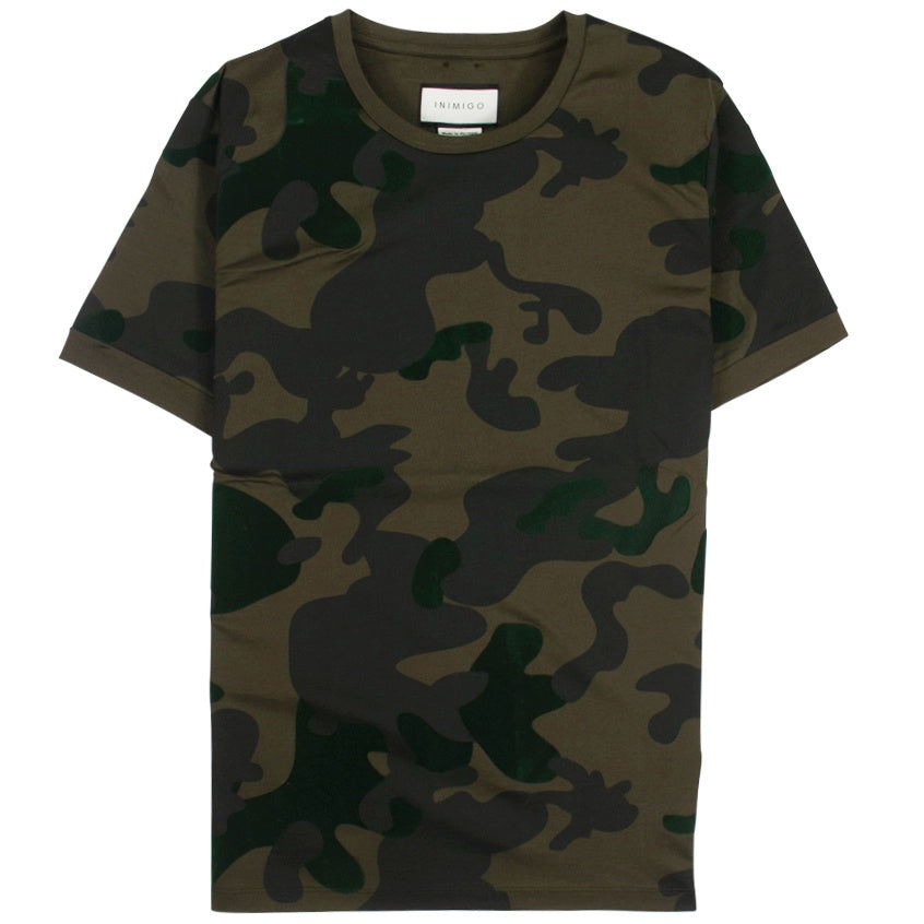 Inimigo Camuflated Green T-Shirt