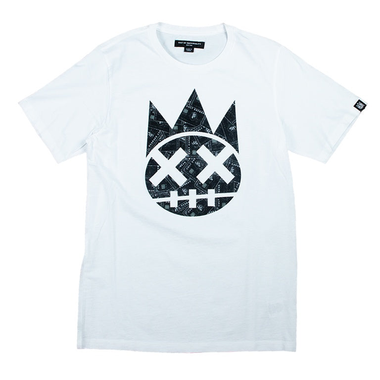 Cult Of Individuality Black Card Shimuchan White T-Shirt