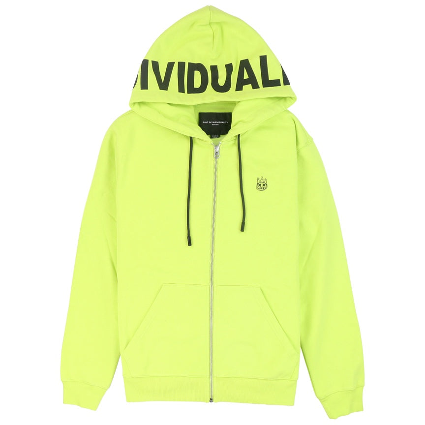 Cult Of Individuality Full Zip Logo Sweatshirt