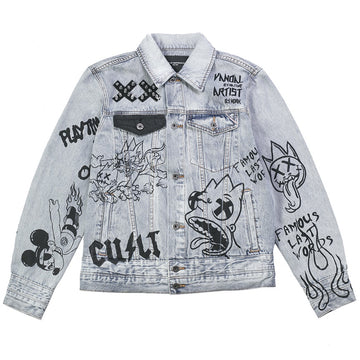 Cult Of Individuality Type IV Double Cuff Denim Jacket
