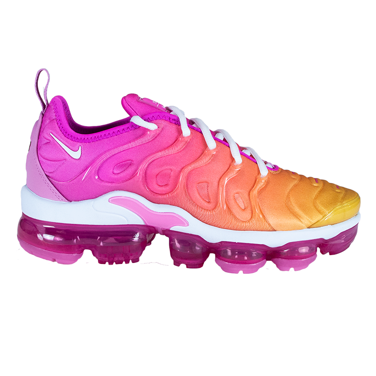 Nike Women S Pink Air Vapormax Plus Puffer Reds