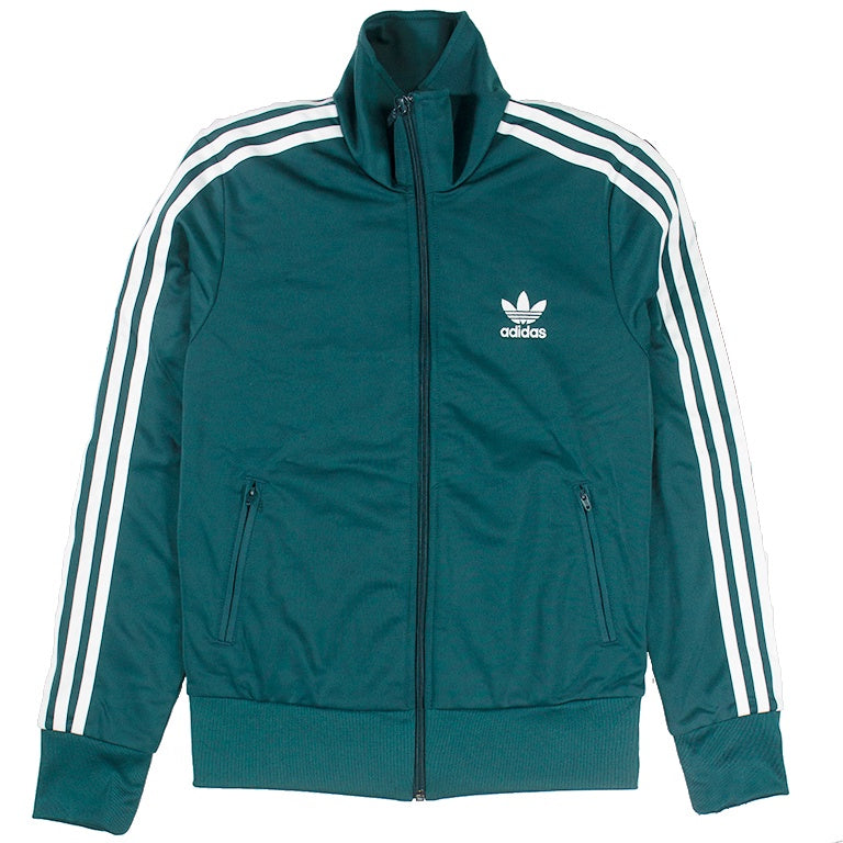 Adidas Women's Green Firebird Track Jacket