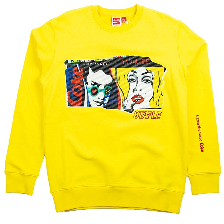 Staple x Coca Cola Real Thing Sweatshirt
