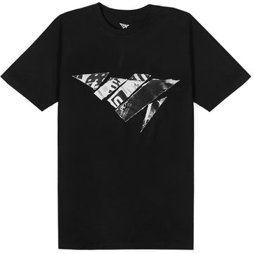 Paper Planes Inspirational Airways Black T-Shirt