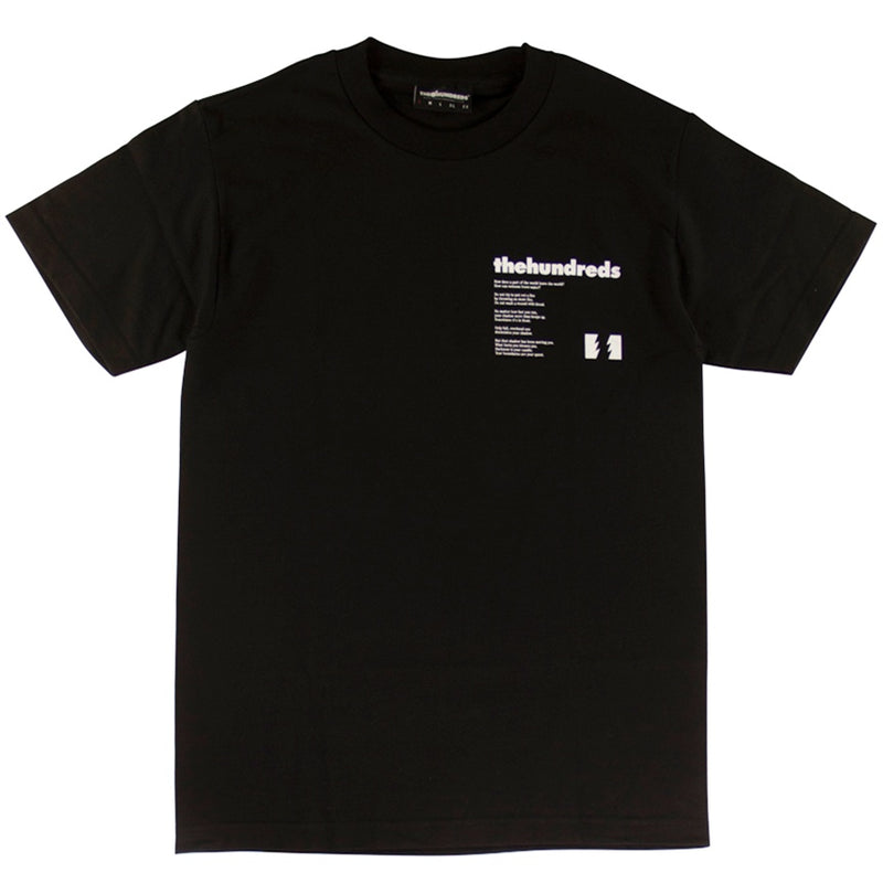 The Hundreds Secrets Black T-Shirt