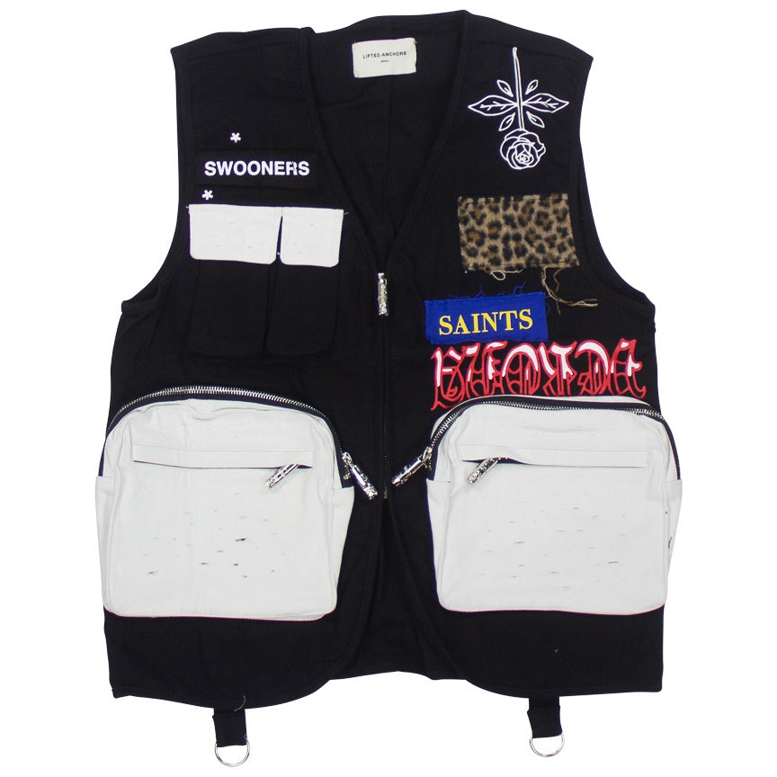 Lifted Anchors Warwick Utility Black Vest