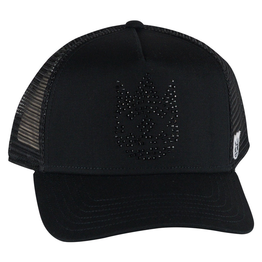 Cult Of Individuality 10-Year Crystal Mesh Trucker Cap