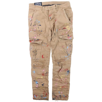 Jordan Craig Sean - Highland Stacked Cargo Khaki Pants