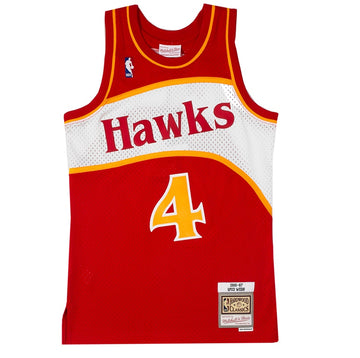 Mitchell & Ness NBA Swingman 'Atlanta Hawks Spud Webb'