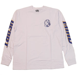 Billionaire Boys Club White Rider LS T-Shirt